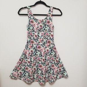 💎2 FOR $20💎 Divided Floral Print Skater Dress
